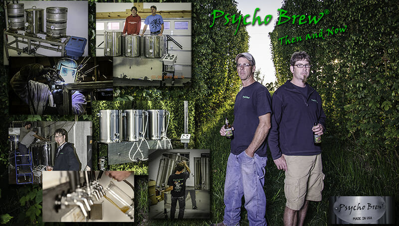 Psycho Brew - Brewing Equipment for Home Brewer & Startup Nano Brewery for Breweries