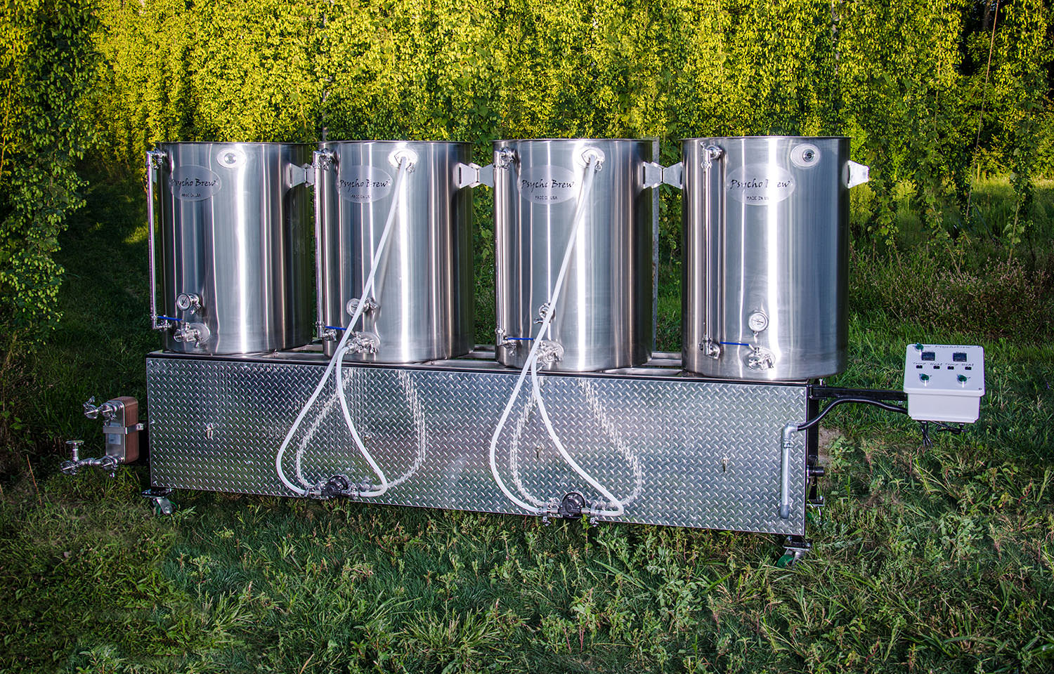 100 5 Bbl 4 Burner Pilot Beer Brewing Systems Mash