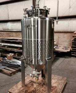 3 bbl Conical Jacketed Fermenter-0