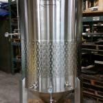 7 bbl Conical Jacketed Fermenter-0