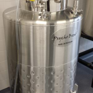 3 bbl Jacketed Brite Tank-0