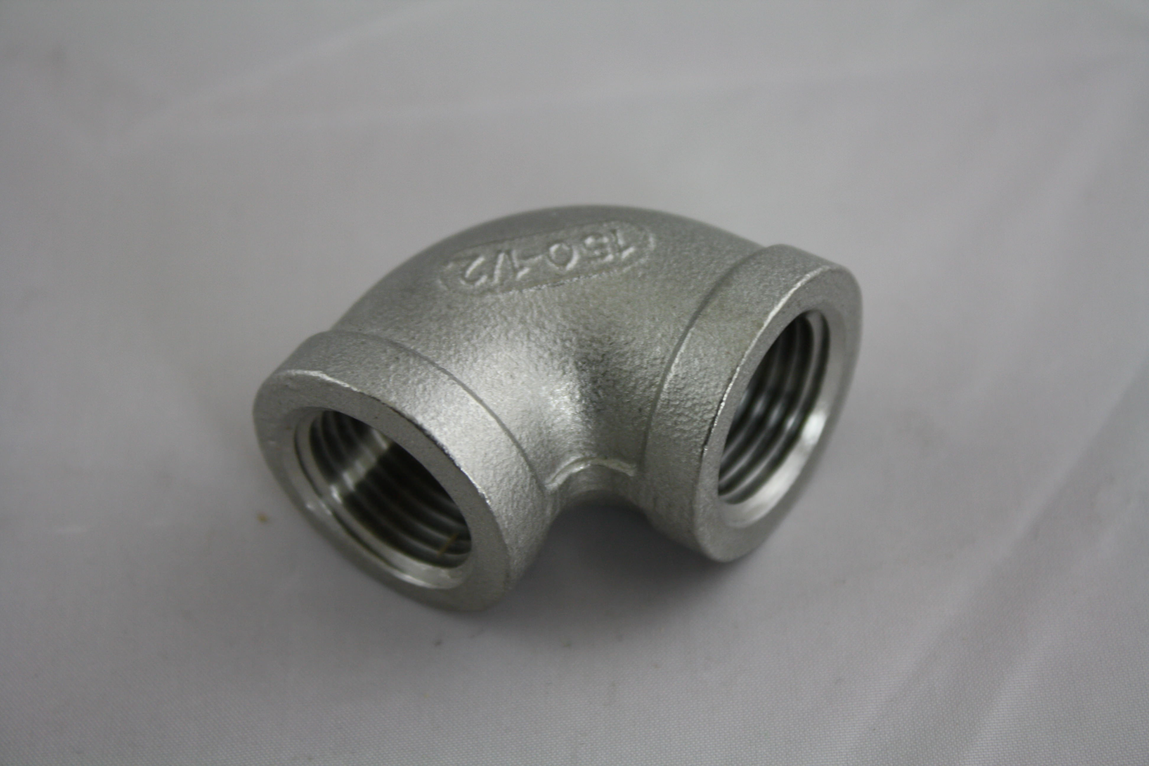 "1/2"" NPT Elbow Stainless Steel 304-0"