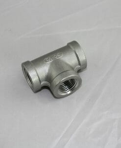 "1/2"" NPT Tee Stainless Steel 304-0"