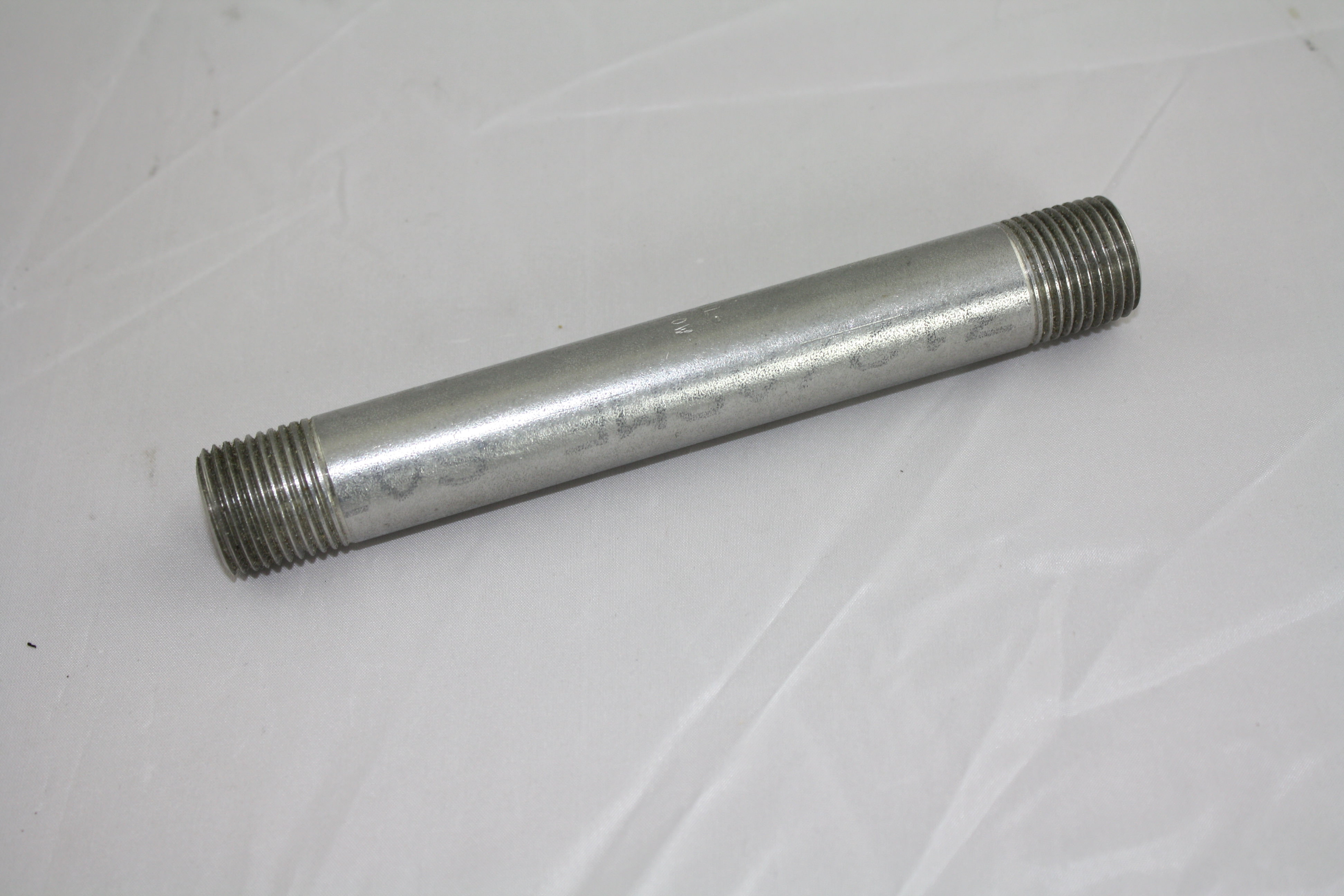 "1/2"" NPT x 6"" nipple Stainless Steel 304-0"