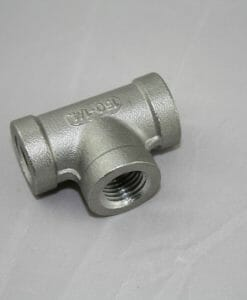"1/4"" NPT Tee Stainless Steel 304-0"