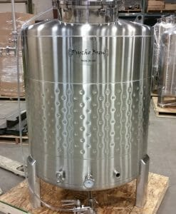 7 bbl Jacketed Brite Tank-0