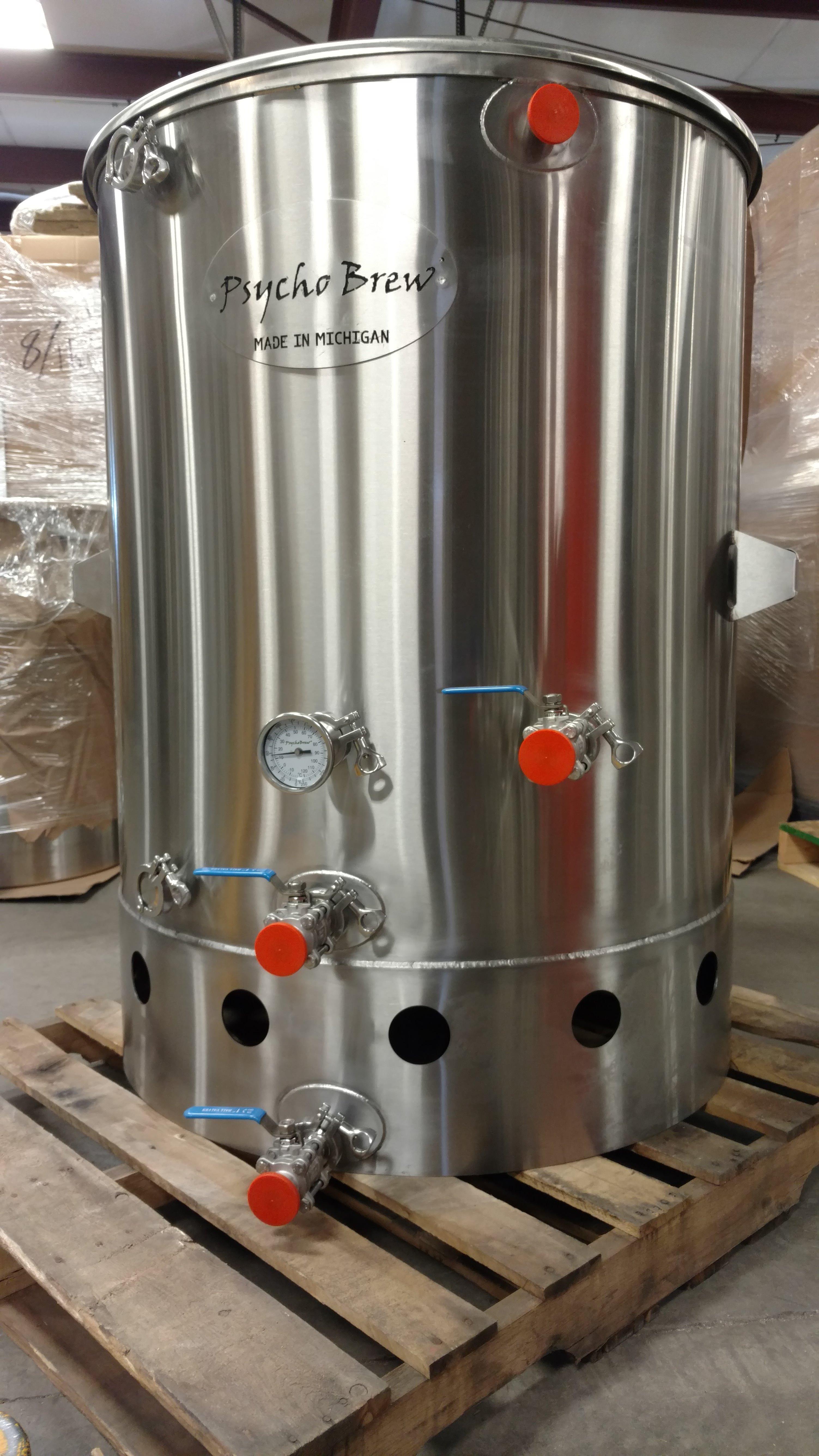 150 Gallon Psycho Brew Boil Kettle-256