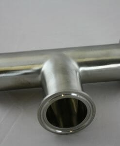 "Tri-Clamp Tee 1.5"" Stainless Steel 304-0"