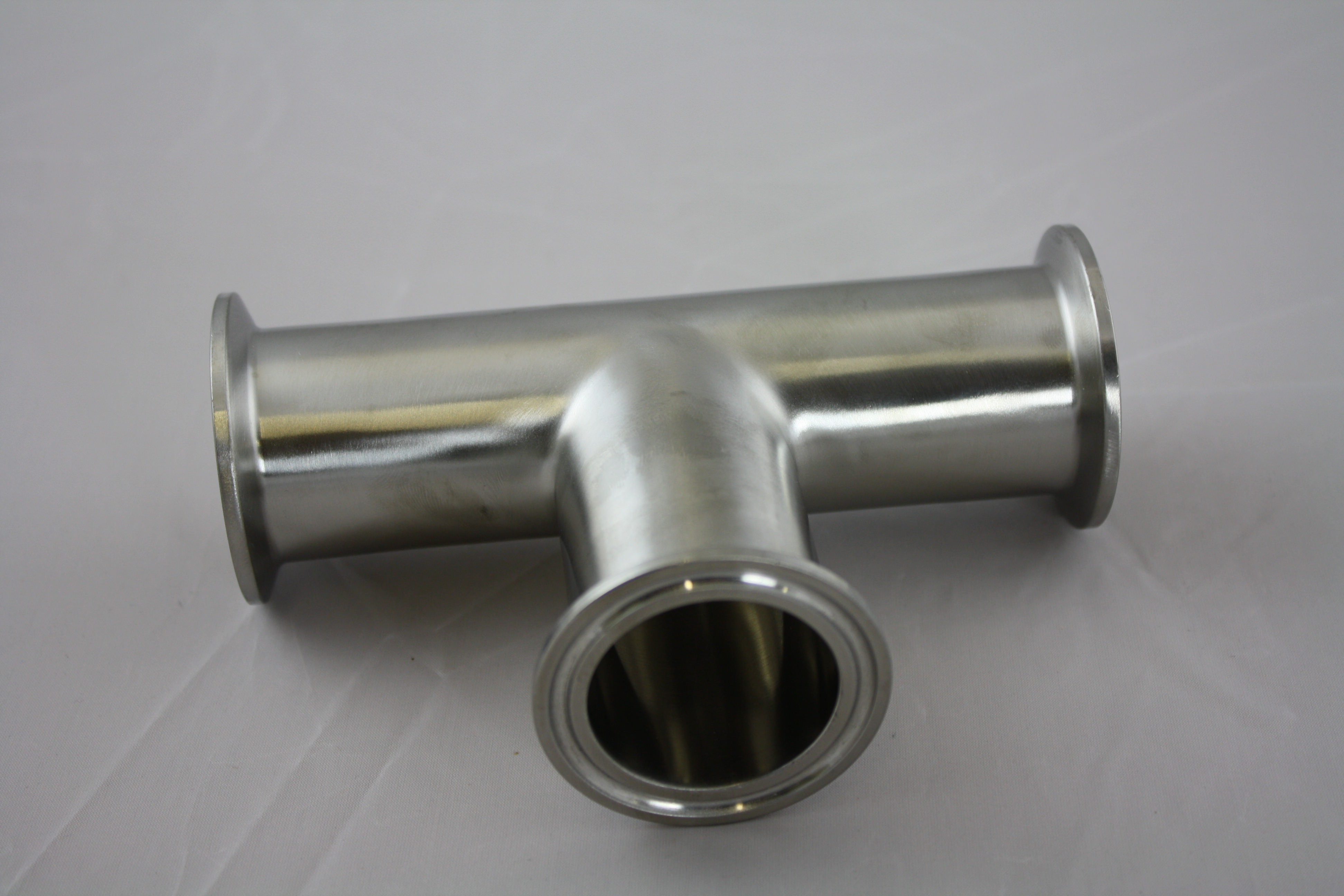 """Tri-Clamp Tee 1.5"""" Stainless Steel 304-0"""