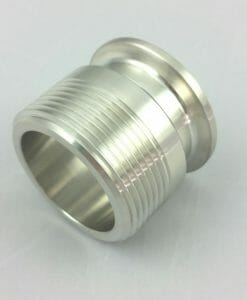 "1.5"" TC to 1-1/4"" Male NPT Stainless steel 304-0"