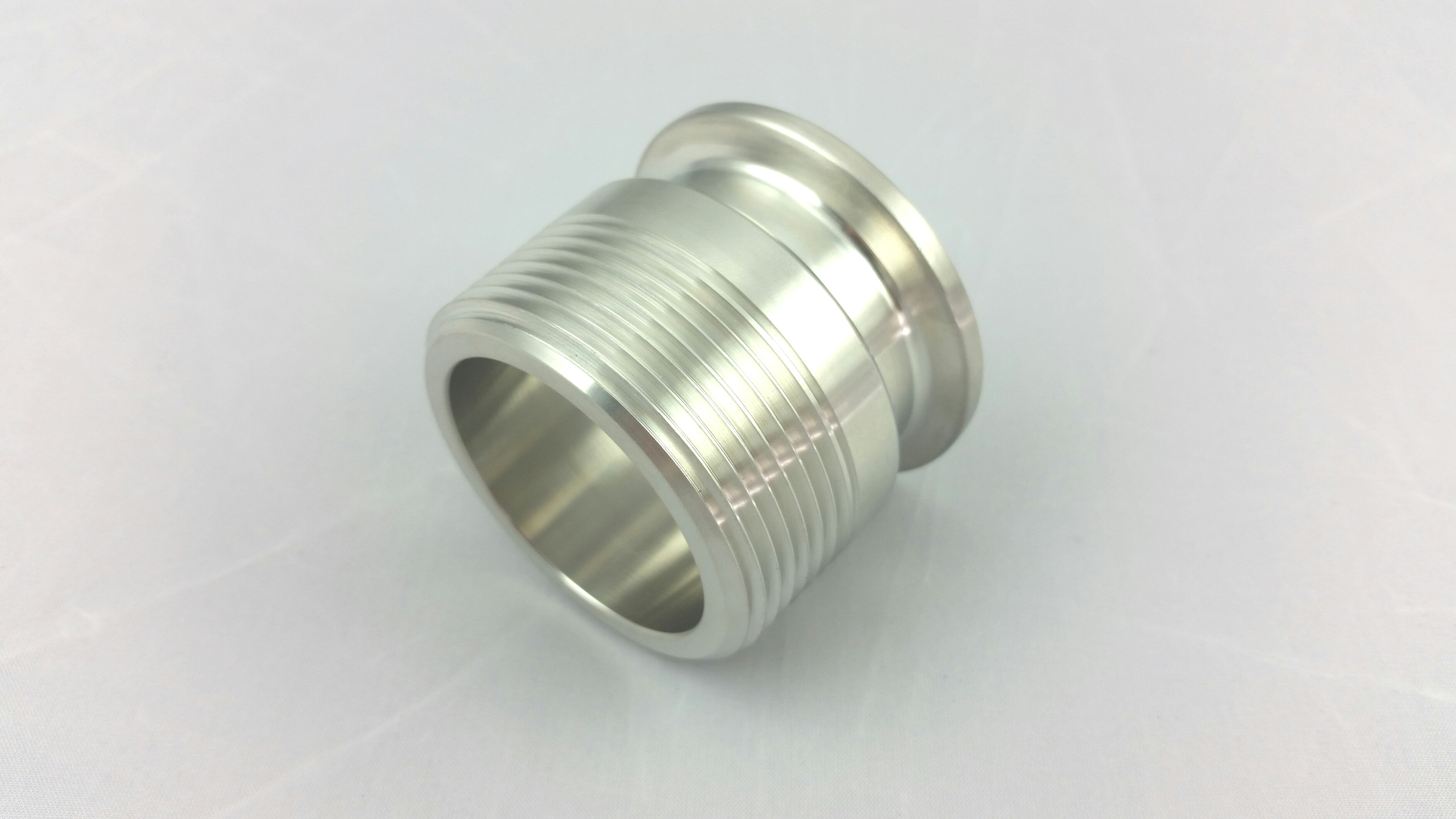 """1.5"""" TC to 1-1/4"""" Male NPT Stainless steel 304-0"""