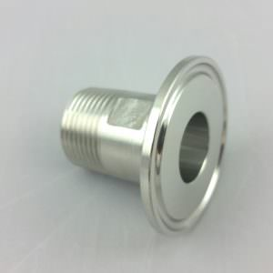 "1.5"" TC to 1/2"" Male NPT Stainless steel 304-0"