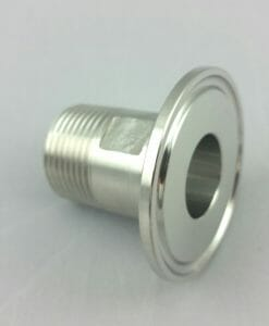 "1.5"" TC to 3/4"" Male NPT Stainless steel 304-0"