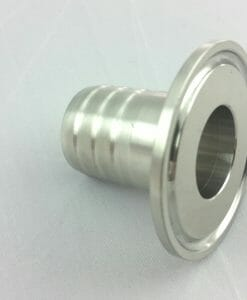 """1.5"""" TC-1"""" Rubber Hose Barb Stainless Steel SS304-0"""
