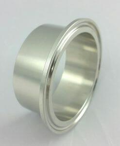 "2.5"" Tri-Clamp 28 mm Long Ferrule-0"