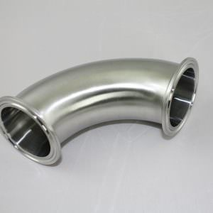 "Tri-Clamp 2"" Elbow 90 degree x 2"" TC Stainless Steel SS 304-0"