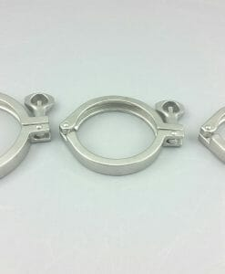 """Tri-Clamp 4"""" Single Hinge Stainless Steel SS304-0"""