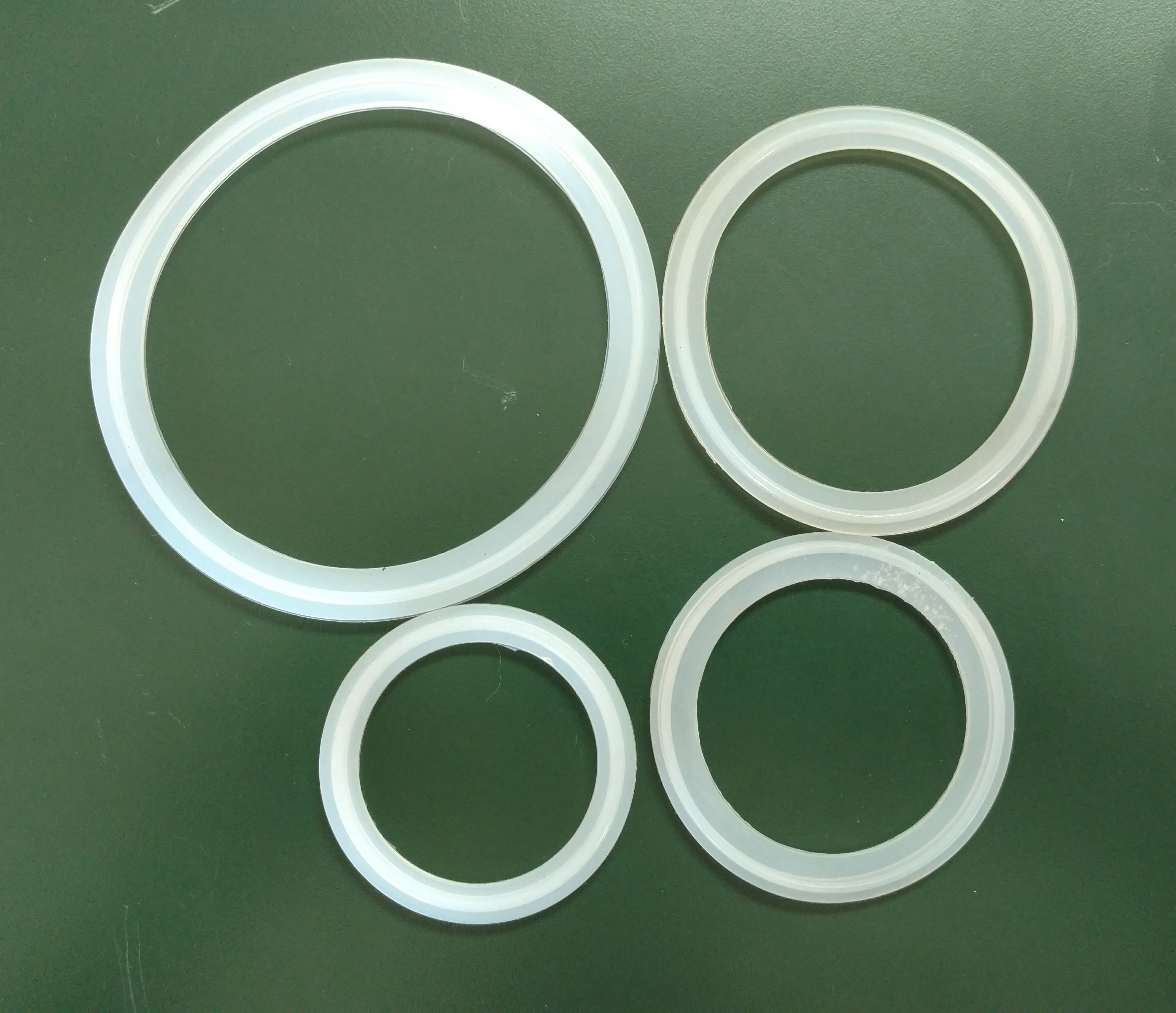 "2.5"" Tri-Clamp Silicone Gasket-0"